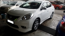 2015 NISSAN ALMERA 1.5 VL (IMPUL) (A) REG 2014, ONE CAREFUL OWNER, FULL SERVICE RECORD, LOW MILEAGE DONE 65K KM, IMPUL BODY KIT, REVERSE CAMERA, 15