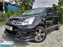 2008 NISSAN GRAND LIVINA 1.8 (A) MPV 7 SEATER CLEAN INTERIOR GOOD CONDITION PROMOTION PRICE.