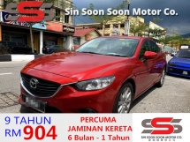 2013 MAZDA 6 2.0 SKYACTIV-G PREMIUM(AUTO)2013 Only 1 LADY Owner,72K Mileage,TIPTOP, ACCIDENT-Free, DIRECT-Own, MEMORY LEATHER Seat,DVD,GPS&REVERSE Cam