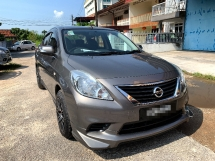 2013 NISSAN ALMERA 1.5 FACELIFTED FULL Spec(AUTO)2013 Only 1 LADY Owner, 65K Mileage, TIPTOP, ACCIDENT-Free, LEATHER Seat, AIRBEG, BODYKIT & SPORTRIM