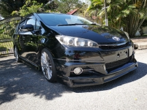 2014 TOYOTA WISH 1.8S MONOTONE ADMIRATION BODYKIT NEW FACELIFT,  FULL LOAN