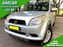 2009 TOYOTA RUSH 1.5G (AT) FACELIFT 1 OWNER LOW MILEAGE
