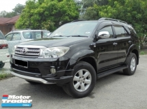 2011 TOYOTA FORTUNER 2.7 V TRD Sportivo 4x4 Facelift LikeNEW