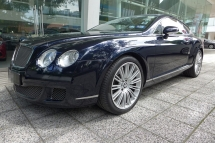 2008 BENTLEY CONTINENTAL GT SPEED SEQUIN BLUE