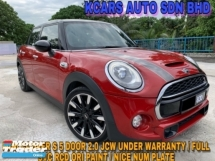 2016 MINI JOHN COOPER WORKS Cooper S LOCAL SPEC UNDER WARRANTY FULL SVC RCD