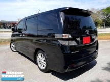 2009 TOYOTA VELLFIRE 2.4 ZP MPV 7 SEAT (A) BLACK INTERIOR DUAL POWER DOOR & BOOT KEYLESS ENTRY & START SUN & MOON ROOF