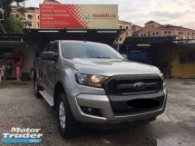 2017 FORD RANGER 2.2 XL 4WD (M) Under Warranty, Low mileage