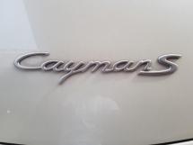 2008 PORSCHE CAYMAN CAYMAN S
