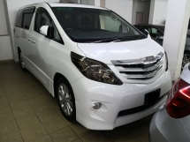 2008 TOYOTA ALPHARD 2.4 ANH20 Push Start TRUE YEAR MADE 2008 NO SST S Edition Home Theatre Sunroof 2012