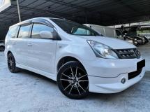2011 NISSAN GRAND LIVINA Nissan Livina 1.6(A) IMPUL SPEC ONE OWNER