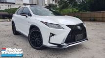 2017 LEXUS RX 2017 Lexus RX200 T F Sport Panaromic Roof Head Up Display Power Boot Full Leather 22 Inch Rim Unregister for sale