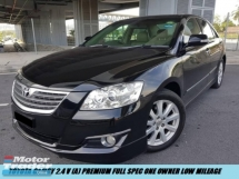 2010 TOYOTA CAMRY 2.4V Premium Full Spec One Owner Low Mileage Accident Free