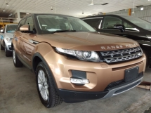 2014 LAND ROVER EVOQUE PANAROMIC ROOF SURROUND CAMERA