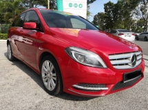 2014 MERCEDES-BENZ B-CLASS B200 FACELIFT(A)IMPORTED NEW FULL LOAN