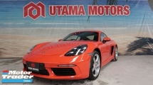2017 PORSCHE CAYMAN 718 2.0 SPORT EXHAUST BOSE SOUND DRIVING MODE RAYA PROMOTION