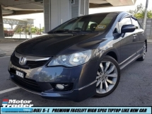 2012 HONDA CIVIC 1.8 S-L FACELIFT FULL LEATHER SEAT TIPTOP ORIGINAL CONDITION LIKE NEW 1 OWNER NICE NUMBER PLATE