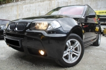 2005 BMW X3 Bmw X3 2.5 CBU (A) SPORT HiSpec Leather Yr 2005