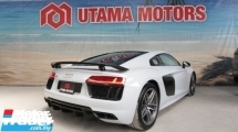 2016 AUDI R8 5.2 v10 FSI QUATTRO FULLY LOADED CARBON FIBER SPORT EXHAUST SYSTEM MERDEKA SALE DISCOUNT UP TO 70K