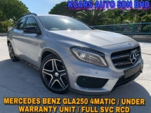 2016 MERCEDES-BENZ GLA 250 4MATIC UNDER WARRANTY POWER BOOT