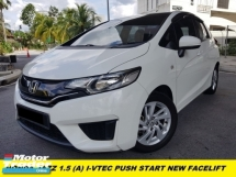2016 HONDA JAZZ 1.5 i-VTEC PUSH START NEW FACELIFT HIGH-SPEC TIP TOP LADY OWNER