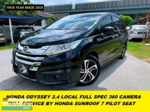 2016 HONDA ODYSSEY EXCLUSIVE LOCAL FULL SPEC FULL SERVICE BY HONDA MALAYSIA