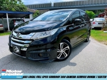 2016 HONDA ODYSSEY exv PREMIUM HIGH SPEC ONE OWNER LUXURY MPVs LIKE NEW CAR CONDITION