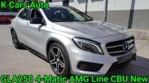 2016 MERCEDES-BENZ GLA 250 4-MATIC AMG LINE CBU NEW 47K MILEAGE FULL SERVICE AND WARRANTY BY HAP SENG STAR MERCEDES TOTALLY KEEP LIKE NEW CAR
