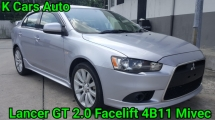 2010 MITSUBISHI LANCER GT 2.0 CBU FACELIFT 4B11 MIVEC ORI MILEAGE FULL BODYKIT ANDROID PLAYER ACCIDENT FREE WORTH BUY