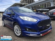 2014 FORD FIESTA 1.0 ECOBOOST TURBO