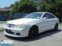 2004 MERCEDES-BENZ CLS-CLASS CLK200K 1.8 Coupe W209 Sunroof TipTOP LikeNEW