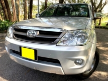 2006 TOYOTA FORTUNER 2.7V (A) 1 DIRECT OWNER LOW MILEAGE
