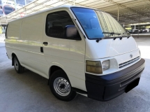 1997 TOYOTA HIACE TOYOTA HIACE 2.5 MT ONE OWNER TIP TOP CONDITION
