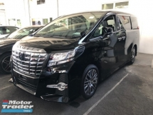 2017 TOYOTA ALPHARD 2.5 FULL SPEC EDITION 360 SURROUND CAMERA SUNROOF JBL SURROUND SOUND SYSTEM