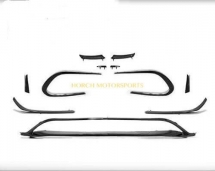 Mercedes w117 W176 AMG Front Aero Canards Bodykit  Exterior & Body Parts > Car body kits