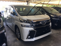 2016 TOYOTA VELLFIRE 2.5ZA Edition 7 SEAT 2 POWER DOOR  FULL VIEW  CAMERA