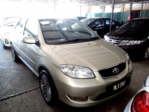 2004 TOYOTA VIOS TOYOTA VIOS 1.5(A)G SPEC PERFECT CONDITION