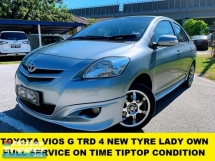 2012 TOYOTA VIOS 1.5G (AT) TRD 1 LADY OWNER ORI PAINT TIPTOP CONDITION