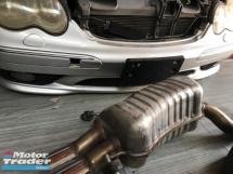 Mercedes Benz c32 w203 AMG Exhaust original  Exterior & Body Parts > Body parts