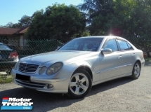 2005 MERCEDES-BENZ E-CLASS E240 2.6 Avantgarde W211 TipTOP Condition LikeNEW Reg.2010