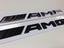 Mercedes AMG Emblem 3D Trunk Logo Badge Emblem Exterior & Body Parts > Others