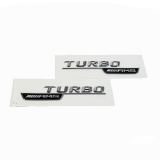 Mercedes Turbo AMG Fender Logo Emblem Badge Exterior & Body Parts > Others