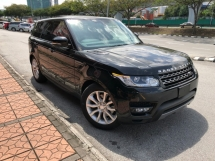 2016 LAND ROVER RANGE ROVER SPORT 3.0 Supercharged Petrol 360 Camera 4 Zone Climate PWR Boot Black
