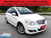 2011 MERCEDES-BENZ B-CLASS B180 1.7 (A) FULL SERVICE RECORD FULL LEATHER ELECTRIC SEAT KEYLESS ENTRY