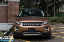 2014 LAND ROVER EVOQUE PURE 2.0T / 9 SPEED AUTO / PADDLE SHIFT / SUNROOF / MERIDIAN / 5 CAMERA