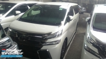 2015 TOYOTA VELLFIRE 2.5 ZG ACTUAL YEAR MAKE SST INCLUDE NO HIDDEN CHARGE