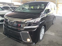 2016 TOYOTA VELLFIRE 2.5 ZA PRE CRASH 360 CAMERA POWER BOOT UNREG