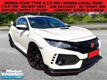 2017 HONDA CIVIC TYPE R FK8R FK2R 2.0 (MT) FULL SERVICE RECORD 18K UNDER WARRANTY 20