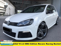 2014 VOLKSWAGEN GOLF R 2.0 FULL SERVICE RECORDS  R-Line Recaro Racing Bucket Full leather seats