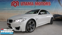2016 BMW M4 3.0 TWIN POWER TURBO CARBON FIBRE ROOF DRIVE MODE CONTROL DISCOUNT UP TO RM70K