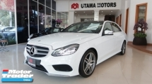 2015 MERCEDES-BENZ E-CLASS E250 2.0 AMG LINE PREMIUM PANORAMIC ROOF ELECTRIC SEATS RAYA PROMOTION